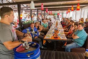 Операторы летних кафе Новосибирска стали участниками проекта «Пивной гурме»