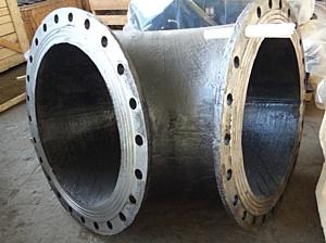 Машпром снабжает горняков высокостойкими элементами шламопроводов
