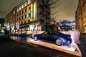 BMW 7 компании АВИЛОН припарковался на JAZZ PARKING