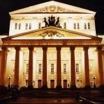 Начался последний этап обессоливания белокаменных колонн Большого театра
