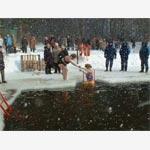 Открытие 45-го зимнего сезона плавания моржей