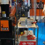 """Сотрудничество компании """"Лазерный центр"""" (Санкт-Петербург) и KUKA Roboter (Германия) на выставке MASHEX 2007"""