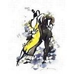 Коллекция акварелей знаменитого питерского художника Миши Ленна «Танго» была представлена в Лувре