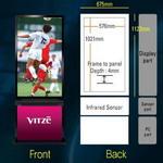 Создан новый сайт по информационным рекламным дисплеям Diboss Vitze