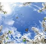 """Распродажа фотовитражного модульного потолка """"Небо"""" от ГК """"МИР ПОТОЛКОВ"""""""