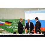 На «Зеленой неделе» в Берлине РЭА подписало несколько российско-немецких соглашений