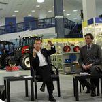 Президент РФ Дмитрий Медведев посетил компанию «Бизон»