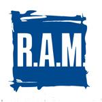 Новогодняя открытка от рекламной компании R.A.M.