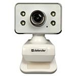 Defender представляет веб-камеру с изящным дизайном и универсальным креплением  - Defender G-lens 321
