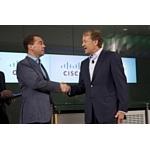 Cisco обязуется поддержать устойчивое развитие российской программы технологических инноваций рассчитанными на несколько лет инвестициями в размере 1 млрд долларов