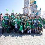 Москвичи пробежали «Мили здоровья» в поддержку детского спорта