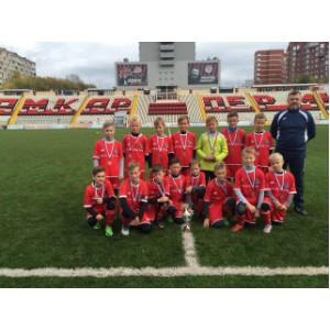 Команда «Маринс Групп Сормово» стала призером футбольного турнира «Уральская осень»
