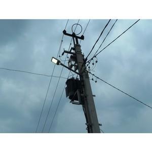 Удмуртэнерго выполняет работы по техприсоединению систем уличного освещения в районах республики