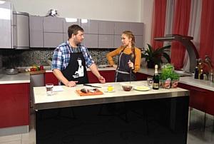 Как  спортсмены готовили на кухне от Фабрики «ZETTA».