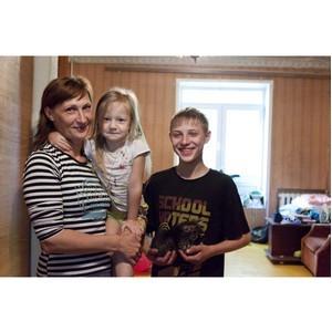 После вмешательства самарских активистов ОНФ многодетной семье выделили качественное жилье