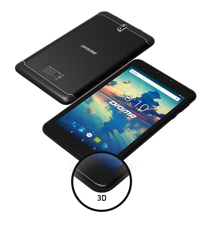 Digma презентует линейку премиальных планшетов с экранами 2.5D и 3D по доступной цене