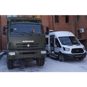 Омские таможенники получили спецтехнику для работы мобильных групп