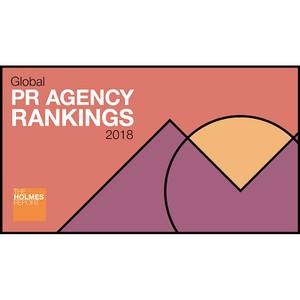«Михайлов и Партнёры» вошли в топ-100 PR-агентств мира за 2017 год по версии The Holmes Report
