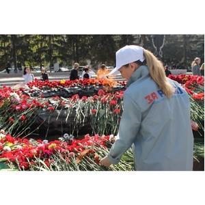 Челябинские активисты ОНФ приняли участие в праздновании Дня Победы