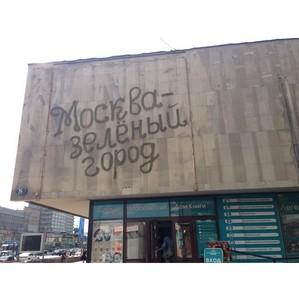 Priroda реализовала первый проект экограффити в Москве