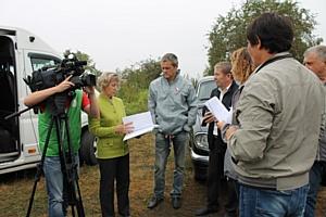 Челябинские эксперты ОНФ побывали на месте слива неочищенных сточных вод в селе Аргаяш