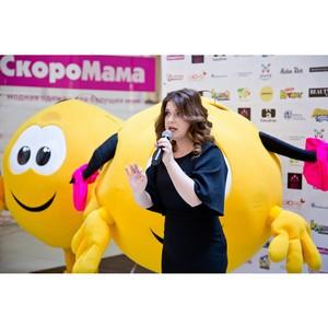 Анастасия Денисова привезла хорошее настроение в ТРЦ Июнь 1 апреля