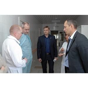 Активисты Народного фронта на Ямале проинспектировали больницу города Лабытнанги