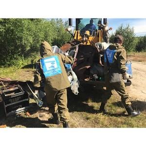 Представители Народного фронта подвели промежуточные итоги проекта ОНФ «Генеральная уборка» на Ямале