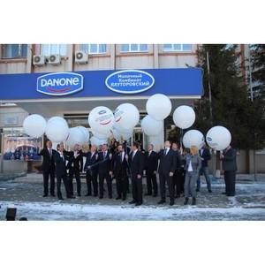 80 лет исполнилось одному из крупнейших заводов Danone в России