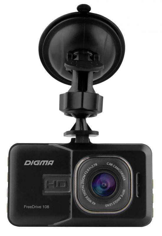Свобода движения вместе с видеорегистратором DIGMA FreeDrive 108