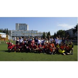 Омские таможенники  провели товарищеский матч по мини-футболу