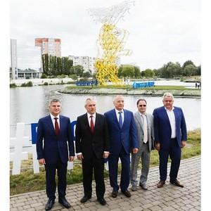 «Россети Центр» ввела в эксплуатацию первый в мире электросетевой объект в виде герба города
