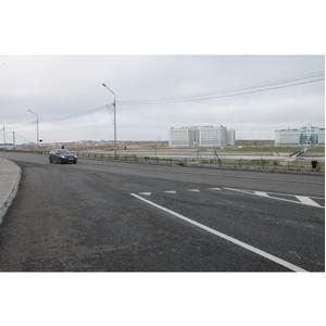 После вмешательства ОНФ в Салехарде отремонтировали дороги