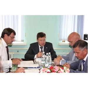 В Рязаньэнерго обсудили вопросы повышения надежности и качества электроснабжения потребителей