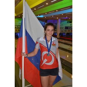 Россиянка стала бронзовым призером Кубка Европейских Чемпионов по боулингу