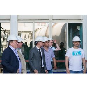 На «Ульяновскцементе» прошла встреча с потребителями продукции