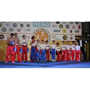 Фестиваль спорта и семейного отдыха в ТРК «Небо»