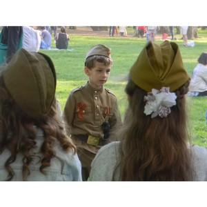 Granat поддержал реконструкцию Дня Победы в Таврическом парке