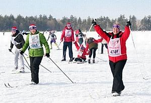Команда «Саратовнефтегаза» приняла участие в «Лыжне России – 2017»