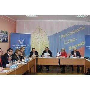 Активисты ОНФ в Оренбургской области провели презентацию новых проектов Народного фронта