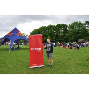 Granat выступил партнером триатлона