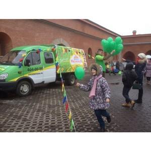 «ГрузовичкоФ» поддержал главную Масленицу Санкт-Петербурга