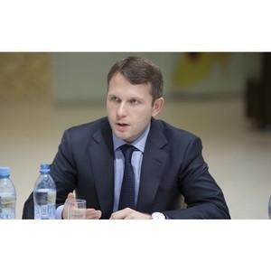 Кандидат в депутаты Максим Левченко посетил Ораниенабаум