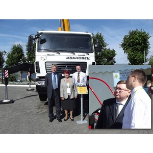Губернатор отметил автокраны «Ивановец»