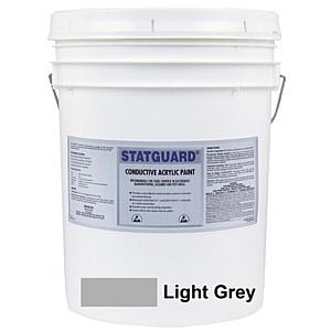 Антистатическая (токопроводящая) краска для стен и пола в зонах, защищенных от статического разряда