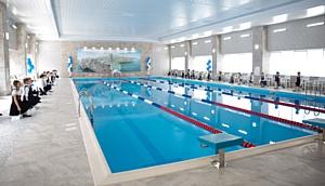 Стойленский ГОК вложил 50 млн рублей в реконструкцию бассейна в Старом Осколе