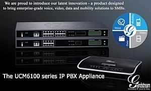 IP АТС Grandstream серии UCM6100 - доступные аудио, видео и мобильность для SMB