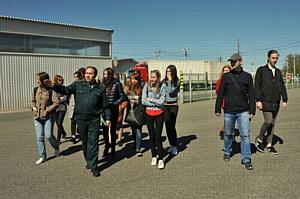 Будущие журналисты ознакомились с работой смоленских таможенников