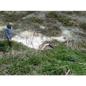Томские активисты ОНФ добились реконструкции очистных сооружений в деревне Нелюбино