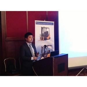 В Москве состоялась презентация техники Komatsu